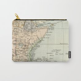 North East Africa Vintage Map Carry-All Pouch