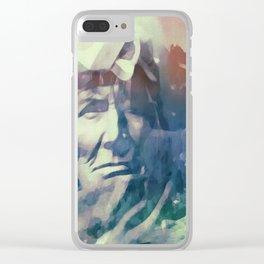 America Clear iPhone Case