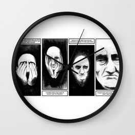 Hate Yourself Wall Clock