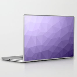 Ultra violet purple geometric mesh Laptop & iPad Skin