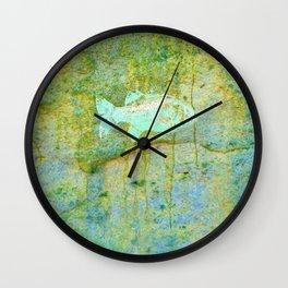 one fish, two fish Wall Clock