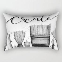 Just Create Rectangular Pillow