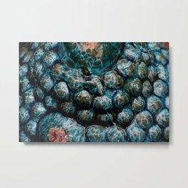 Blue bowls Metal Print
