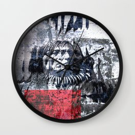 THE ETHNOLOGY Wall Clock