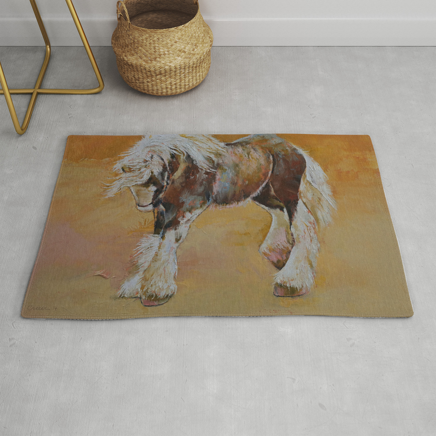 Gypsy Pony Rug By Michaelcreese Society6