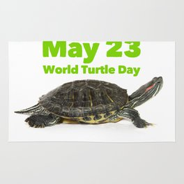 World Turtle Day - May 23 Rug