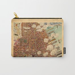 Map Of Greenwich Village 1920 Carry-All Pouch