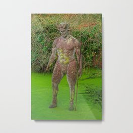 Jersey Satyr Statue Metal Print