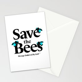 SAVE THE BEES - GOLF WANG Stationery Cards