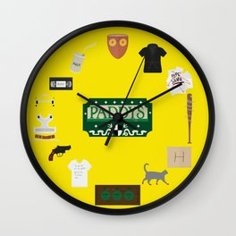 Always Sunny Collage  Wall Clock