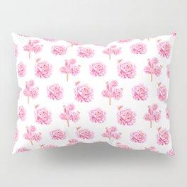 Rose Pop Pattern Pillow Sham
