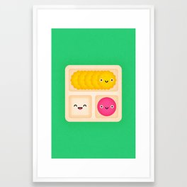 Lunchables Framed Art Print