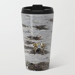 Competing Crabs Travel Mug