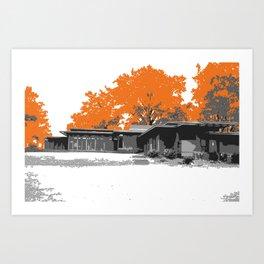 Usonians Art Print