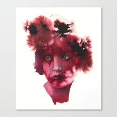 Blood Lady #2 Canvas Print
