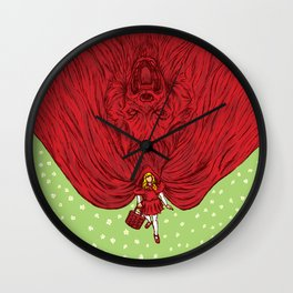 Going to Grandmother's House Wall Clock