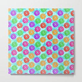 colorful donuts Metal Print