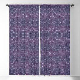 Heather Stem - Purple Blackout Curtain