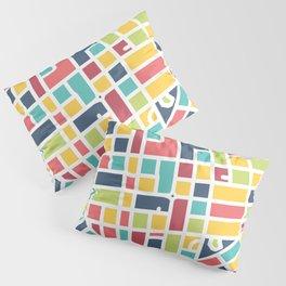 Lancaster, PA Block Map Pillow Sham