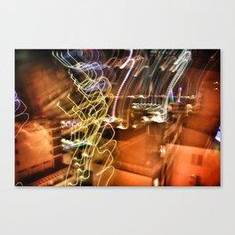 Shutter Speed Lights Canvas Print