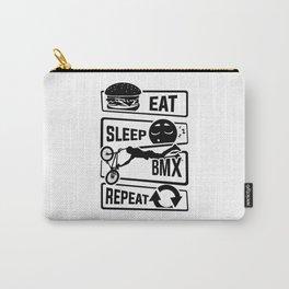 Eat Sleep BMX Repeat - Bike Cycling Stunt Bike Carry-All Pouch