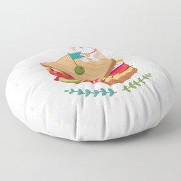 Sandwich Floor Pillow