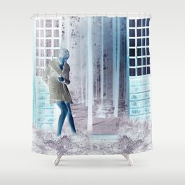 Inside Out When Outside Or In Shower Curtain