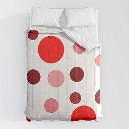 Red Pop Comforters