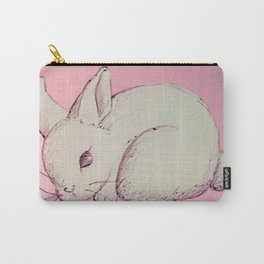 Pen Sketch Pastel Bunny Carry-All Pouch