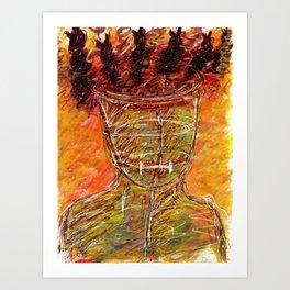 Mental Captivity - Borderline Personality Disorder Art Print