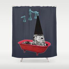 Liquid Moon Shower Curtain