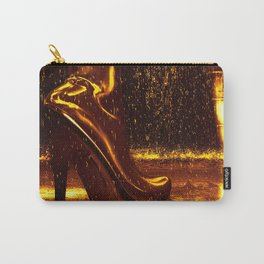 Shiny Boots of Leather Carry-All Pouch