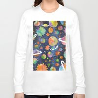 planet Long Sleeve T-shirts featuring Planet by Michaella Fonseca