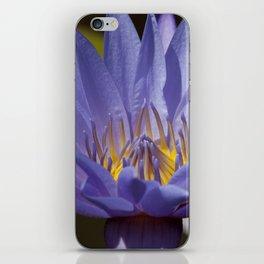 Purple Waterlily iPhone Skin