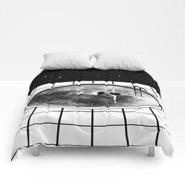 Pool Moon Comforters