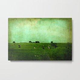 The Green Yonder Metal Print