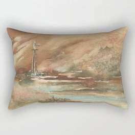 Water Rights Rectangular Pillow