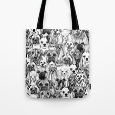 just dogs Tote Bag