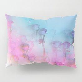 Pretty Pink Roses Pillow Sham