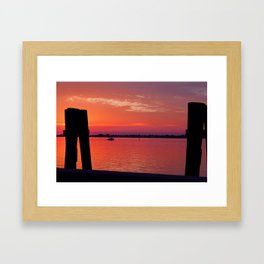 The Vanishing Act Framed Art Print