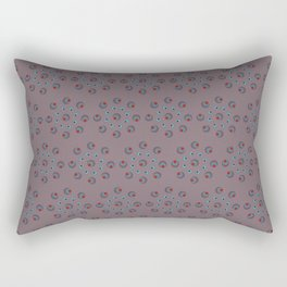 Douceur d'hiver, mauve/Sweetness of winter, purple Rectangular Pillow
