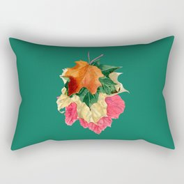 Autumn Leaf Stack Rectangular Pillow
