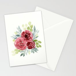 camellia flower bouquet Stationery Cards