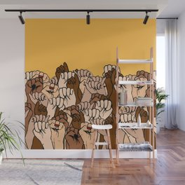 Power Fists Wall Mural