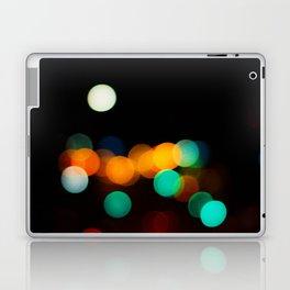 Blurred City Lights Laptop & iPad Skin