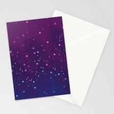 Bi Pride Flag Galaxy Stationery Cards