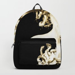 Gold Medusa Backpack
