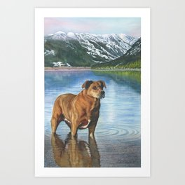 Mala Art Print