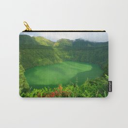 Lake in Azores Carry-All Pouch