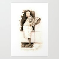 Vent Man Art Print